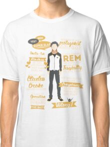 Natsuki Subaru Quotes Classic T-Shirt