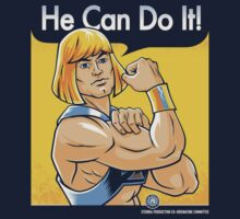 He Can Do It! One Piece - Short Sleeve