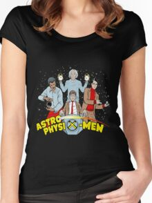 astrophysix men Women's Fitted Scoop T-Shirt