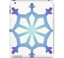 Blue Flake IX iPad Case/Skin