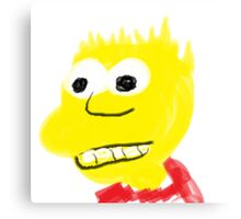 Bart sim sim Canvas Print