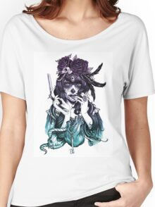 Dia de los Muertos - Night Shade Women's Relaxed Fit T-Shirt