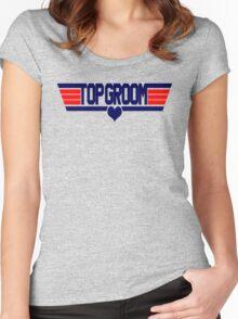 Top Groom Women's Fitted Scoop T-Shirt