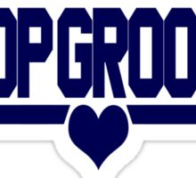 Top Groom Sticker