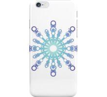 Blue Flake IV iPhone Case/Skin