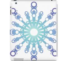 Blue Flake IV iPad Case/Skin