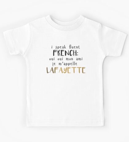 Fluent French Kids Tee