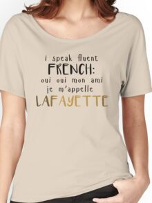 Fluent French Women's Relaxed Fit T-Shirt