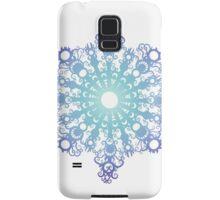 Blue Flake V Samsung Galaxy Case/Skin