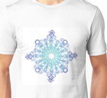 Blue Flake V Unisex T-Shirt