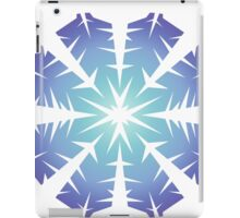 Blue Flake VII iPad Case/Skin