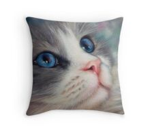 Ragdoll Cat - Wish Upon A Star Throw Pillow