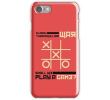 War Games iPhone Case/Skin
