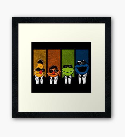 Reservoir Muppets Framed Print