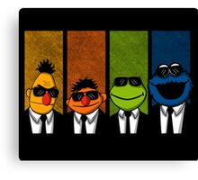 Reservoir Muppets Canvas Print