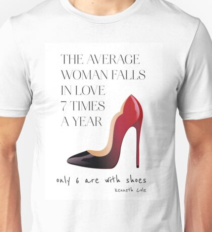 Christian Louboutin shoes Unisex T-Shirt