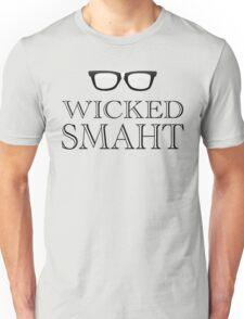 Wicked Smarht(Smart) Boston Humor Unisex T-Shirt