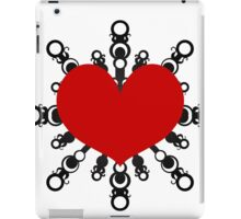 Heart Flake IV iPad Case/Skin