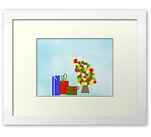 The Tipsy Tree Framed Print