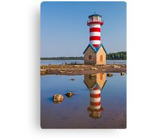 Grafton Lighthouse in Illinois Canvas Print