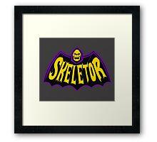 Bat-Skeletor Framed Print