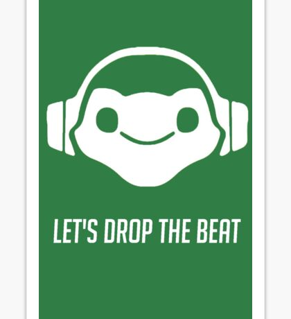 Lucio: Let's Drop The Beat Sticker