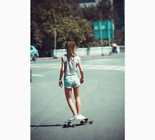woman on skateboard  Unisex T-Shirt