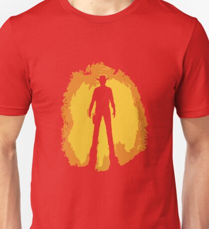 Spaghetti Western Silhouette Unisex T-Shirt
