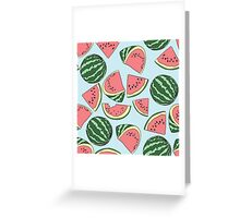 Watermelons! Greeting Card