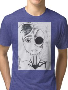 Android Girl Tri-blend T-Shirt