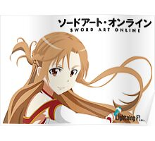 SAO Lightning Flash Poster