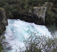 Huka Falls by Judi Rustage