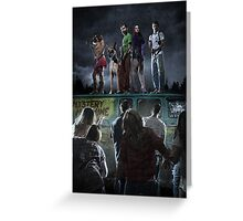 Scooby-Doo Zombie Apocalypse Greeting Card