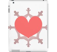 Heart Flake IX iPad Case/Skin