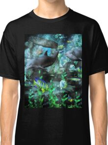 Dolphin's Under The Sea   Classic T-Shirt