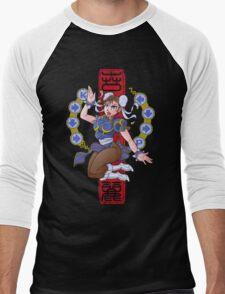 PIN UP FIGHTER Men's Baseball ¾ T-Shirt