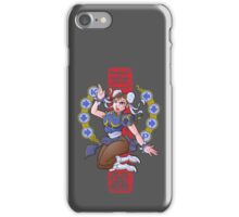 PIN UP FIGHTER iPhone Case/Skin