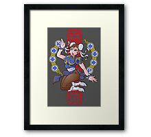 PIN UP FIGHTER Framed Print