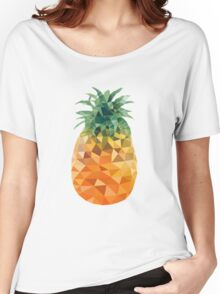 Low Poly Pineapple Women's Relaxed Fit T-Shirt