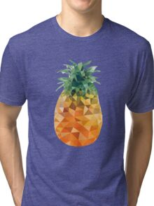 Low Poly Pineapple Tri-blend T-Shirt