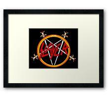 slayer logo Framed Print