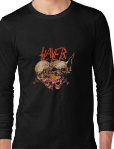 slayer skull Long Sleeve T-Shirt