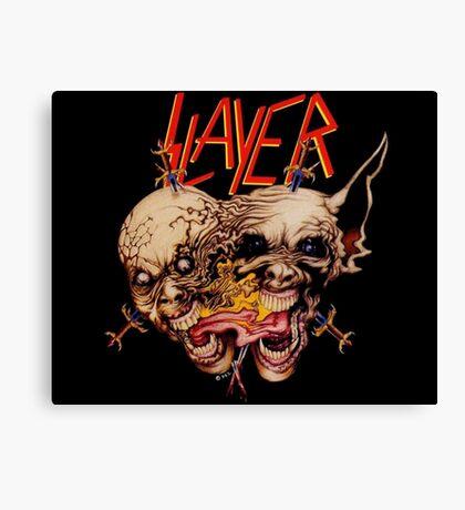 slayer skull Canvas Print