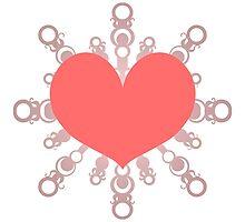 Heart Flake IV by thedustyphoenix
