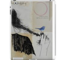 letters of flame iPad Case/Skin