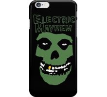 Electric Mayhem Parody Logo iPhone Case/Skin