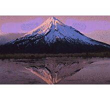 Pixel Mountain Photographic Print