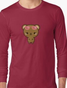 Cute bear on holiday Long Sleeve T-Shirt