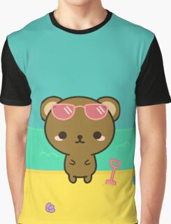 Cute bear on holiday Graphic T-Shirt