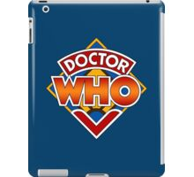 Classic Doctor Who Diamond Logo. iPad Case/Skin